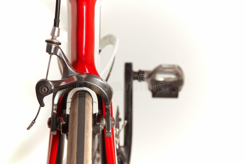 Roue avant de bicyclette photos libres de droits