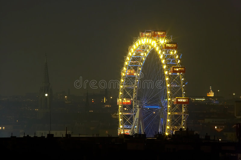 Roue brillante images stock