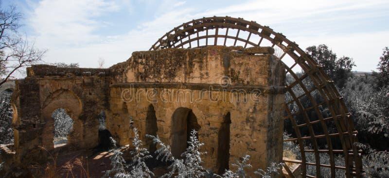 Roue d'eau Cordoue Espagne image libre de droits