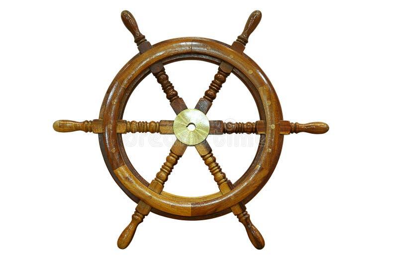 Roue de bateau images libres de droits