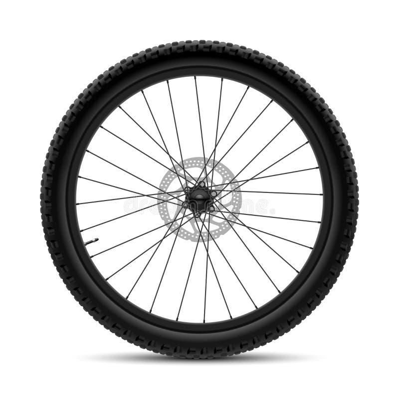 Roue de bicyclette illustration stock