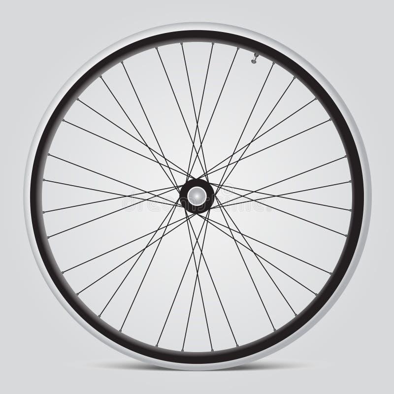 Roue de bicyclette illustration libre de droits