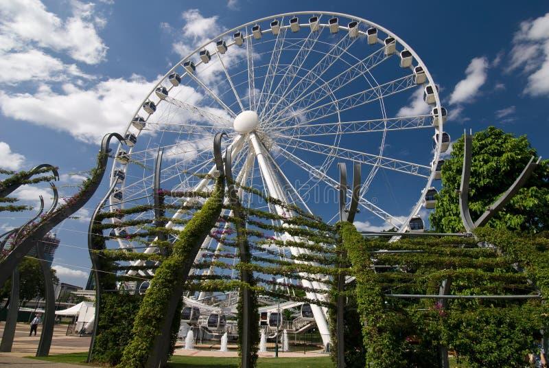 roue de Brisbane photo stock