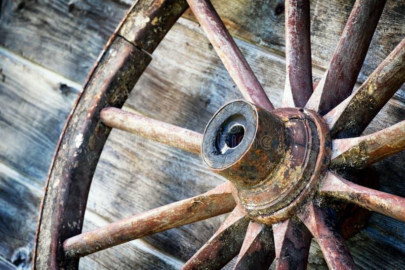 Roue de chariot photographie stock