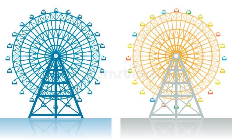 roue de ferris illustration stock