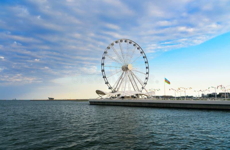 Download Roue De Ferris De Bakou, Oeil De Baky Photo stock - Image du national, bakou: 87708206