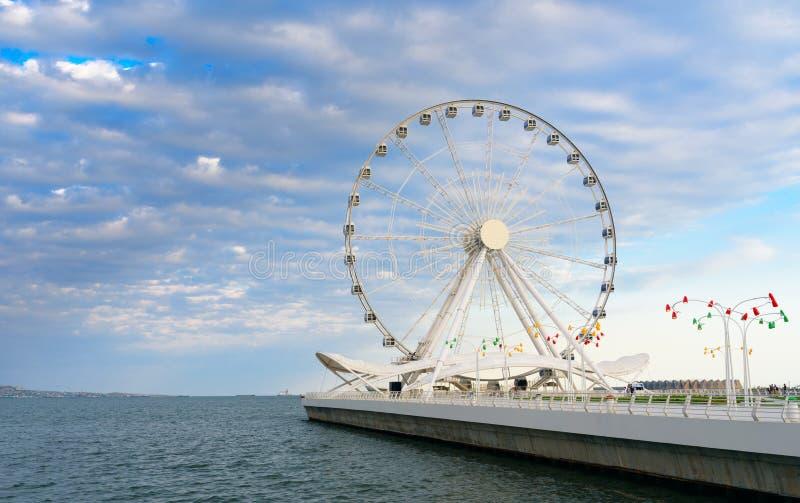 Download Roue De Ferris De Bakou, Oeil De Baky Photo stock - Image du boulevard, oeil: 87708254