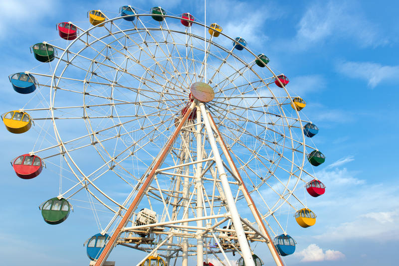 Roue de ferris géante photo stock