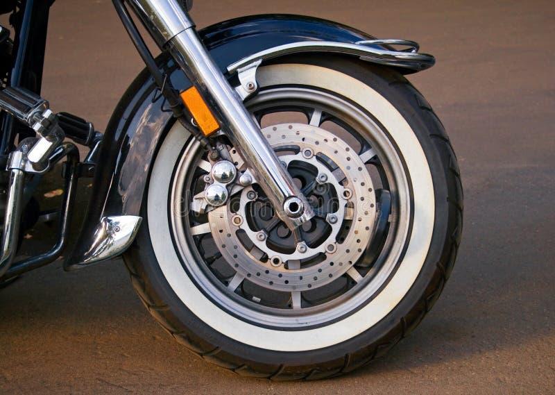 Roue de la moto image libre de droits