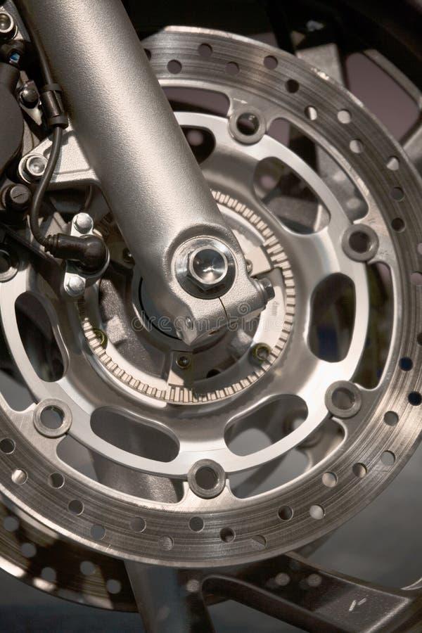 Roue de moto images libres de droits