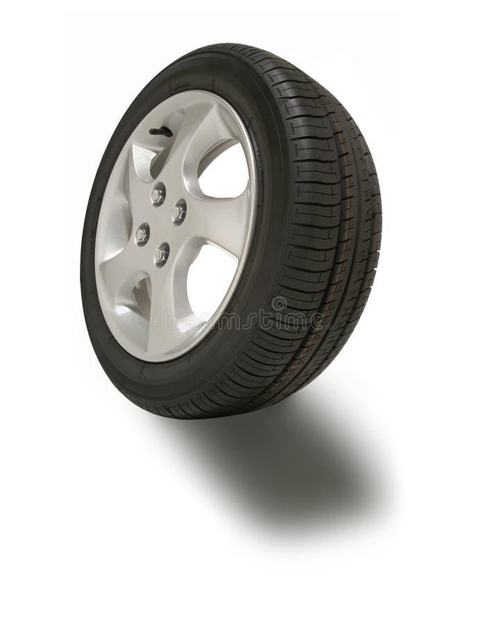 roue de pneu de magnétique photo libre de droits
