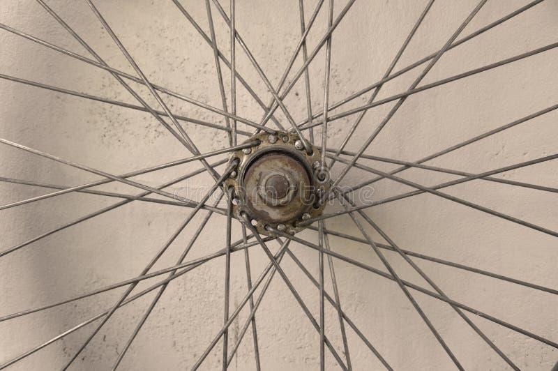 Roue de rai de bicyclette photos stock
