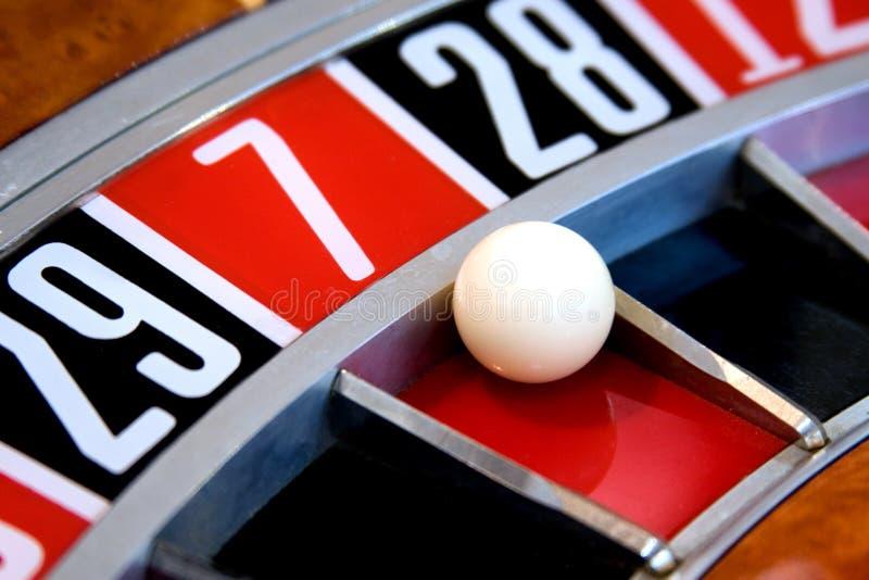 Roue de roulette images libres de droits