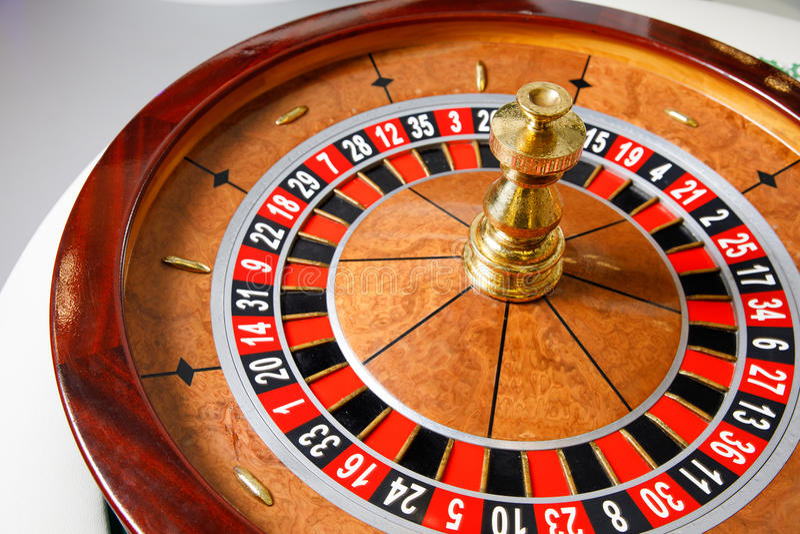 Roue de roulette de casino photos libres de droits