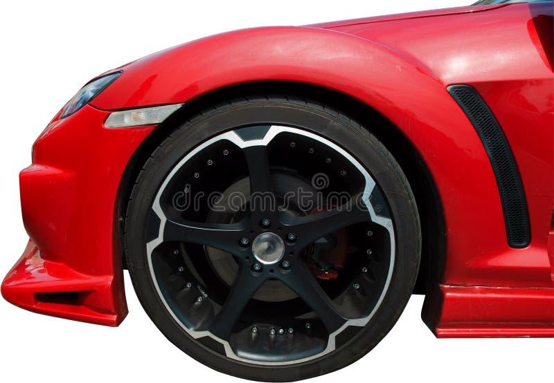 roue de sport de véhicule photos libres de droits
