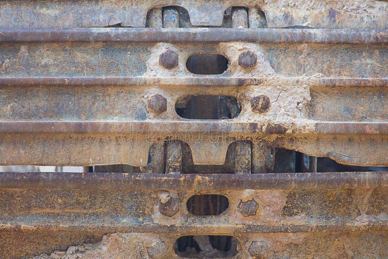roue de tracteur à chenilles photo stock