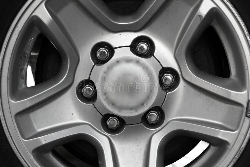 Roue de véhicule photo stock