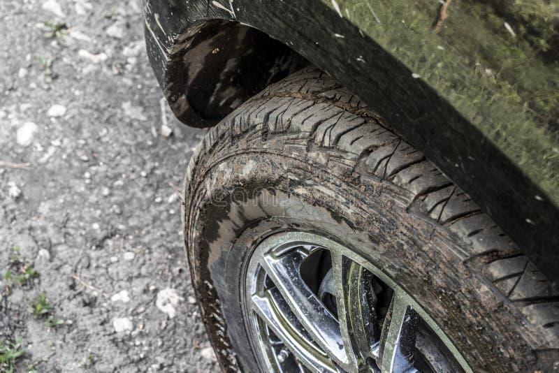 Roue de véhicule modifiée photo stock