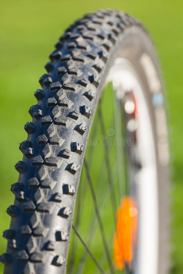 Roue de vélo photographie stock