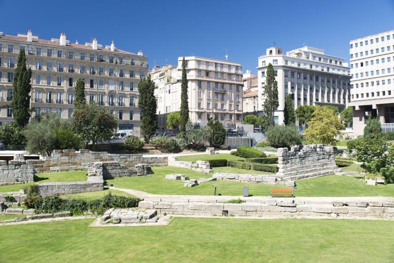 Roue Henri Barbusse, Marseille stock fotografie