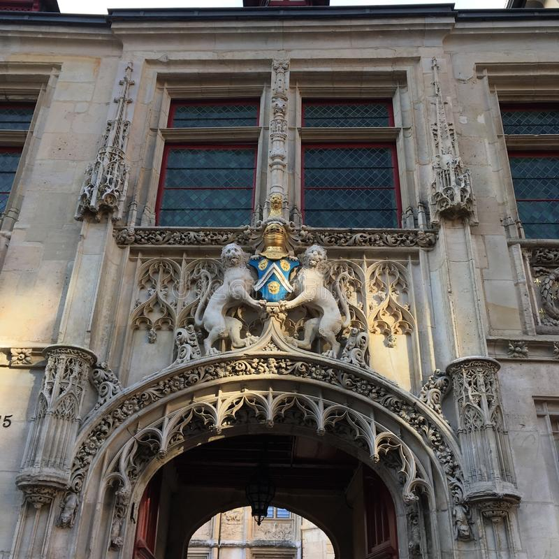 Rouen immagine stock libera da diritti