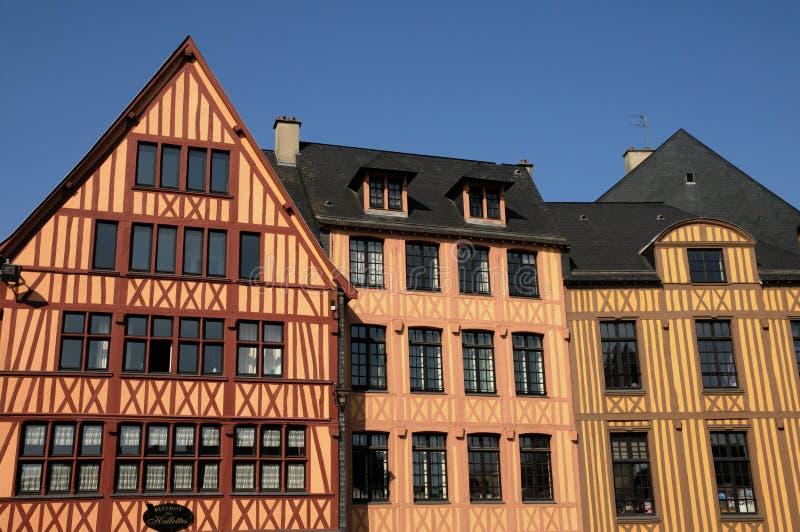 Rouen en Normandie photo libre de droits