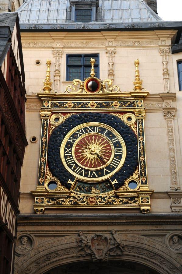 Download Rouen in Normandy stock photo. Image of horloge, ancient - 20206926