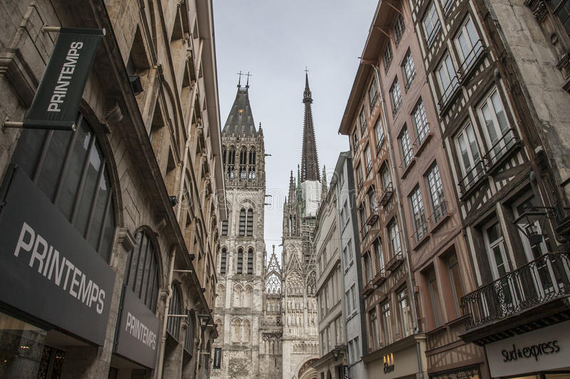 Rouen, Normandy, France - architecture. stock photos