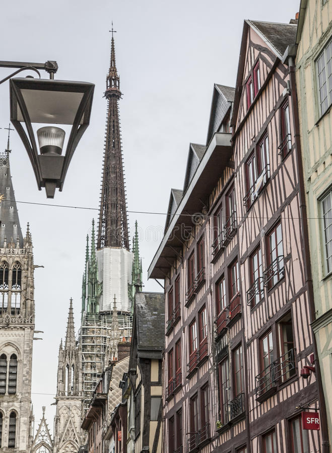 Rouen, Normandy, France, Europe - architecture. stock photography