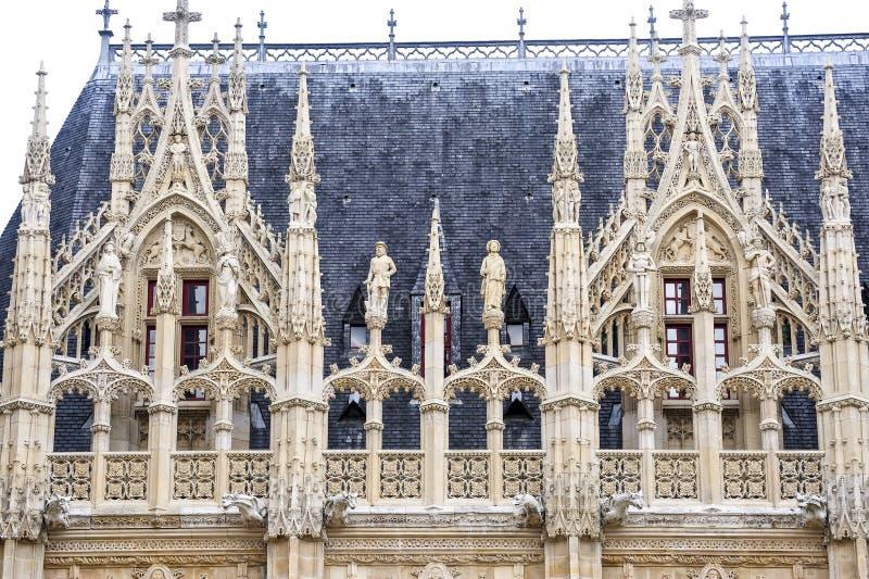 Rouen - palais historique photographie stock