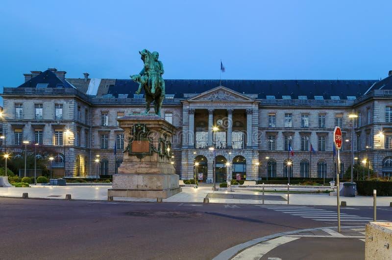 Rouen-Rathaus frankreich lizenzfreie stockbilder