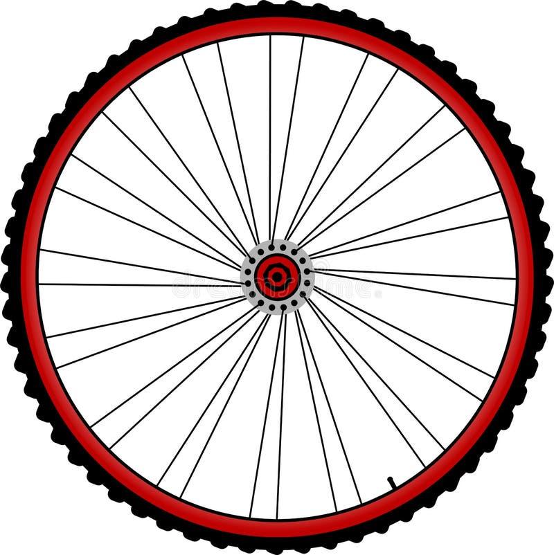 Roues de bicyclette illustration libre de droits