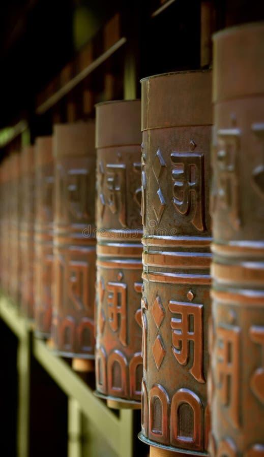 roues de prière du Japon Kyoto image stock