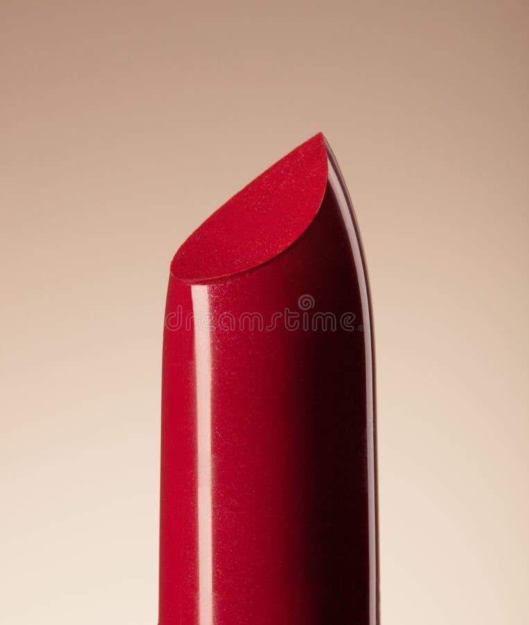 Rouge à lèvres rouge images stock