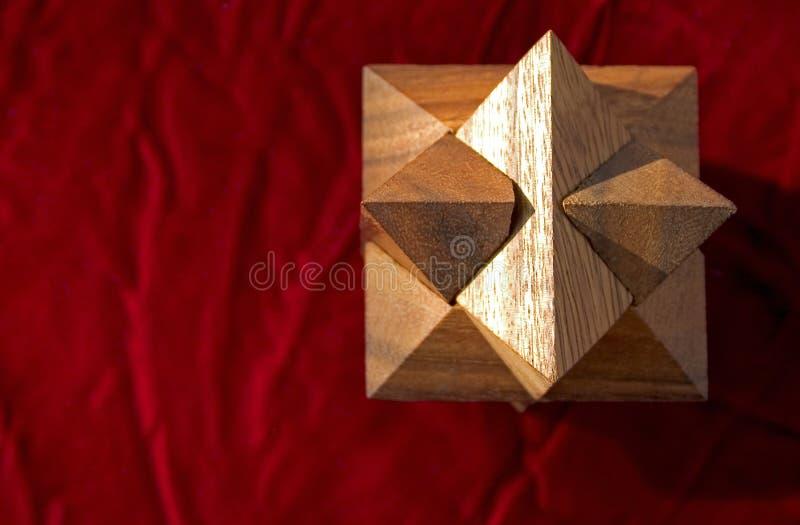 Rouge 2 De Puzzle Image stock