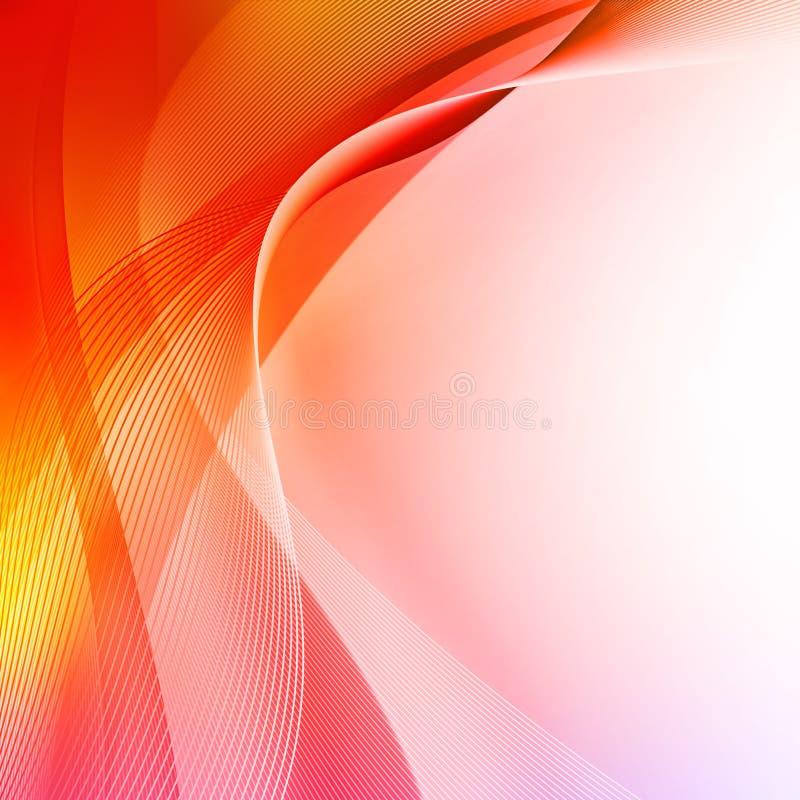 rouge abstrait de fond illustration de vecteur