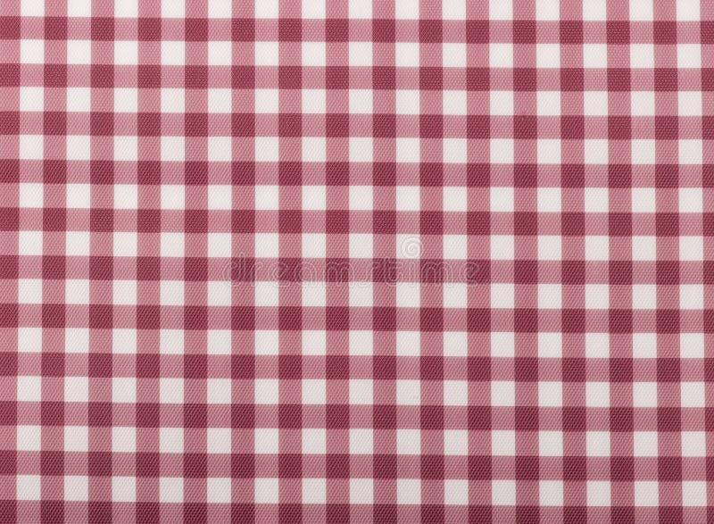 Rouge abstrait de place de texture de tissu de modèle de dessin de main illustration stock