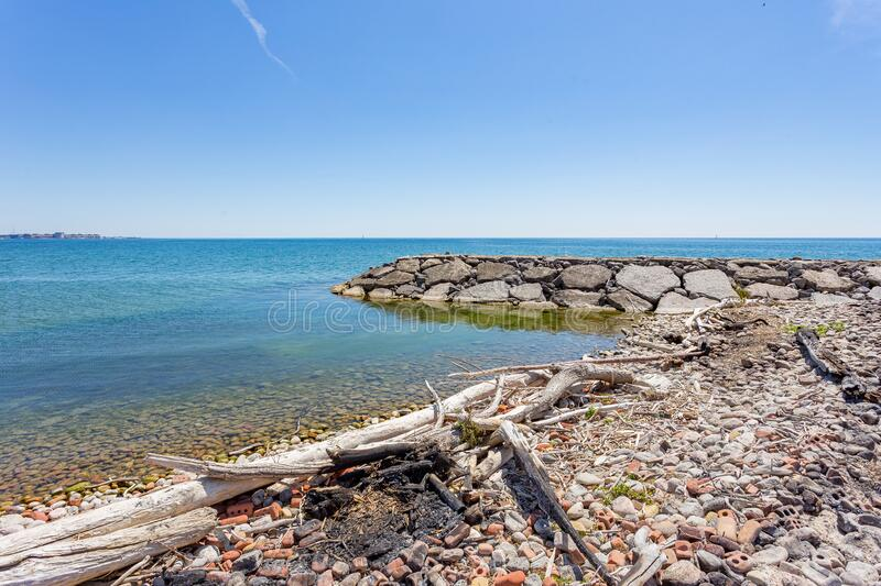 Rouge Beach Ontario, Canada stock photography