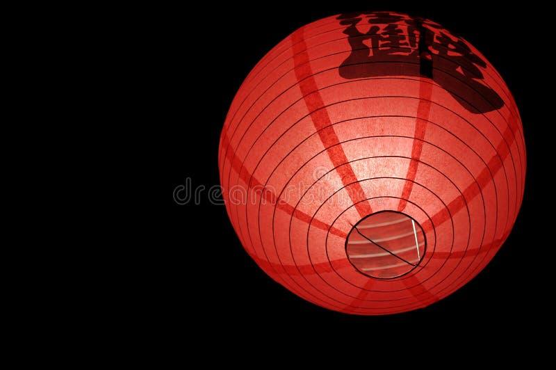 rouge chinois de lanterne photo libre de droits