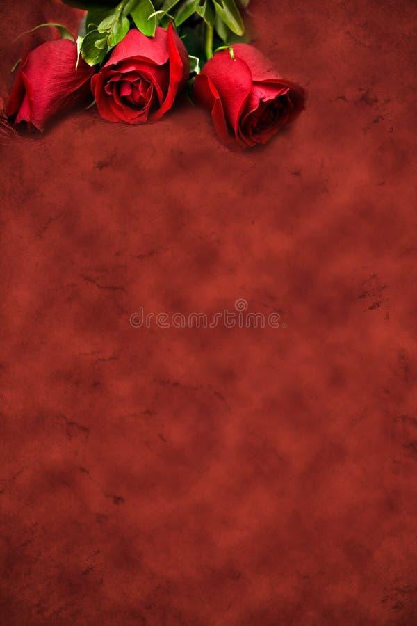 rouge de fond illustration stock