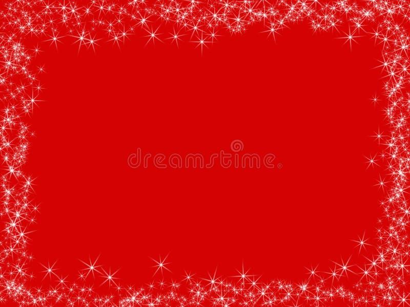 rouge de Noël de fond illustration stock