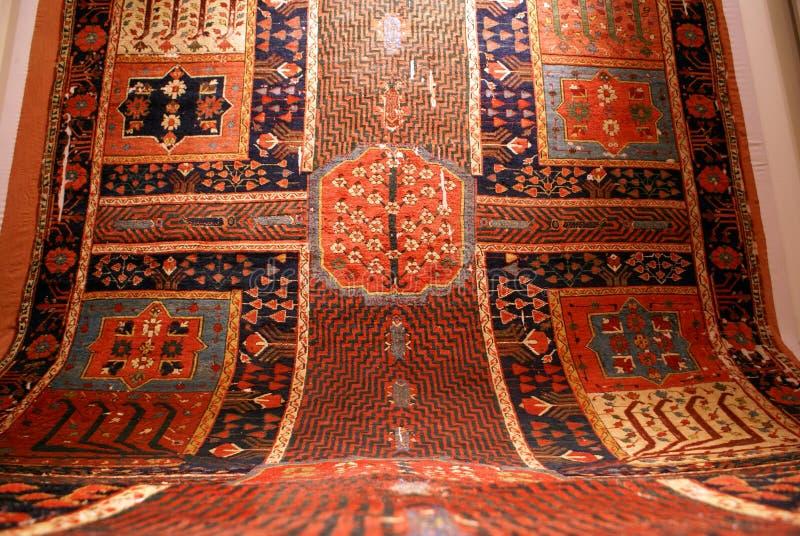 rouge de tapis images stock
