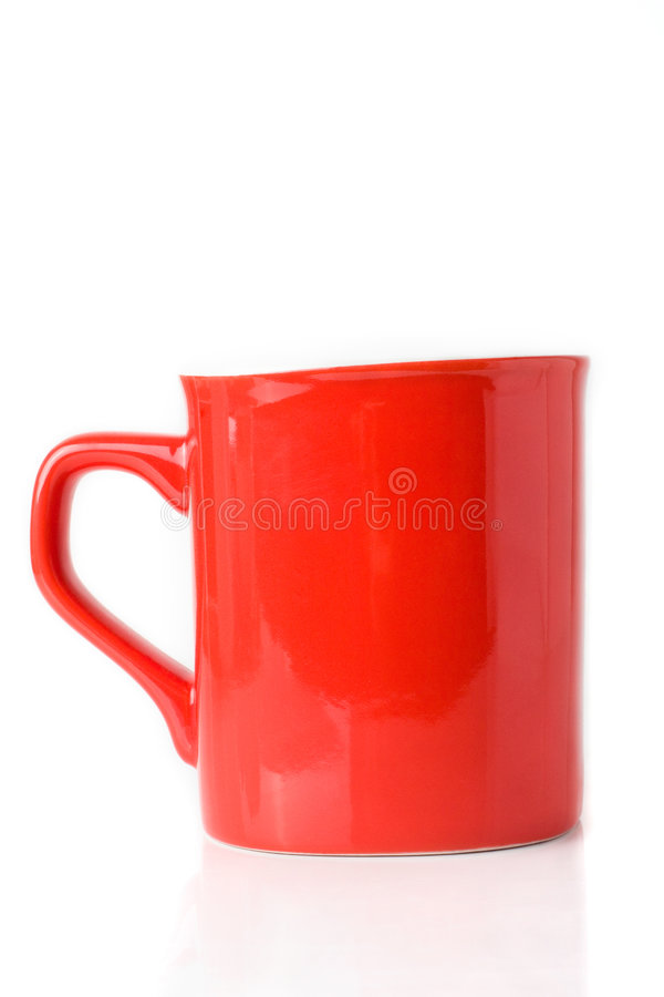 rouge de tasse photographie stock