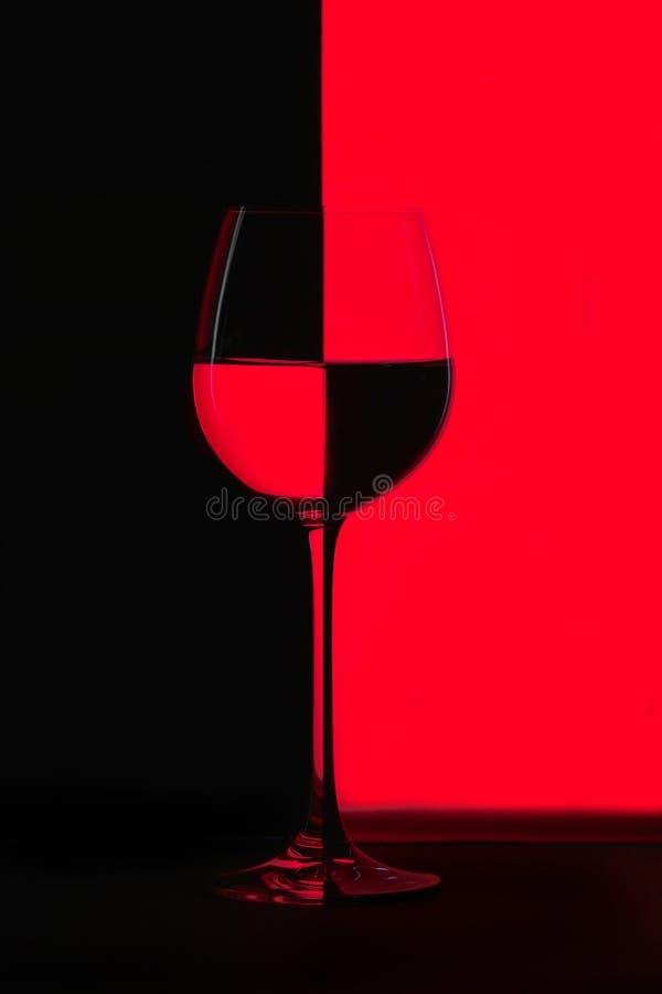 Rouge et noir image stock