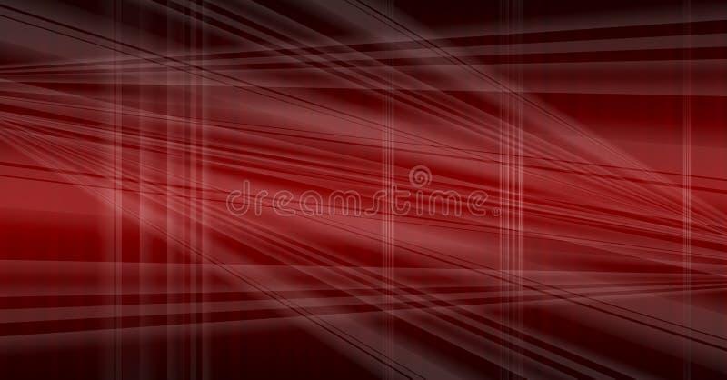 Rouge foncé abstrait illustration stock