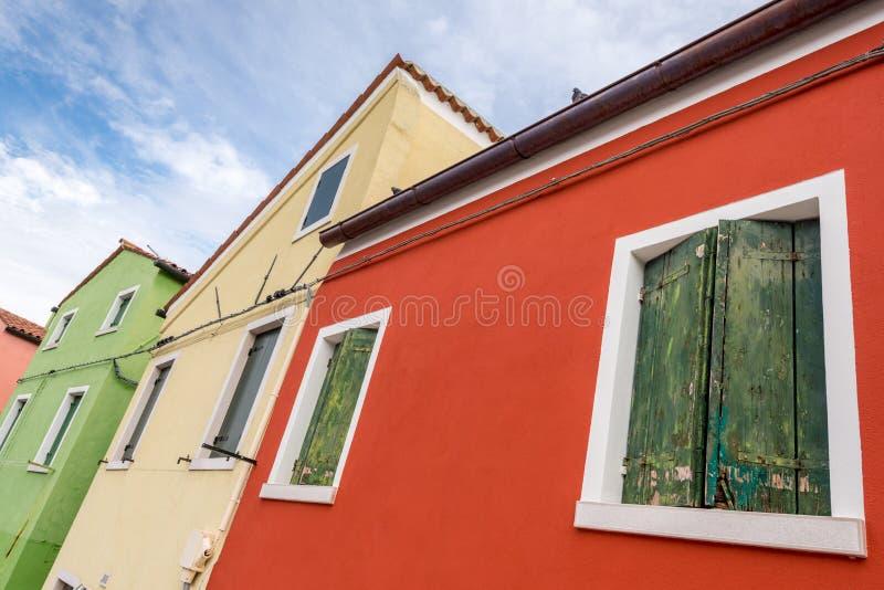 Rouge, jaune, vert image libre de droits