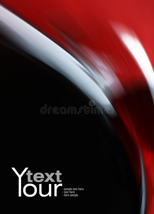 rouge noir de fond image libre de droits