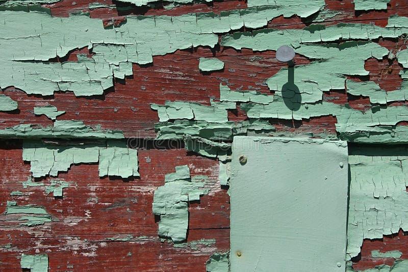 Rouge/panneau superficiel par les agents vert avec le gisement des textes photos stock