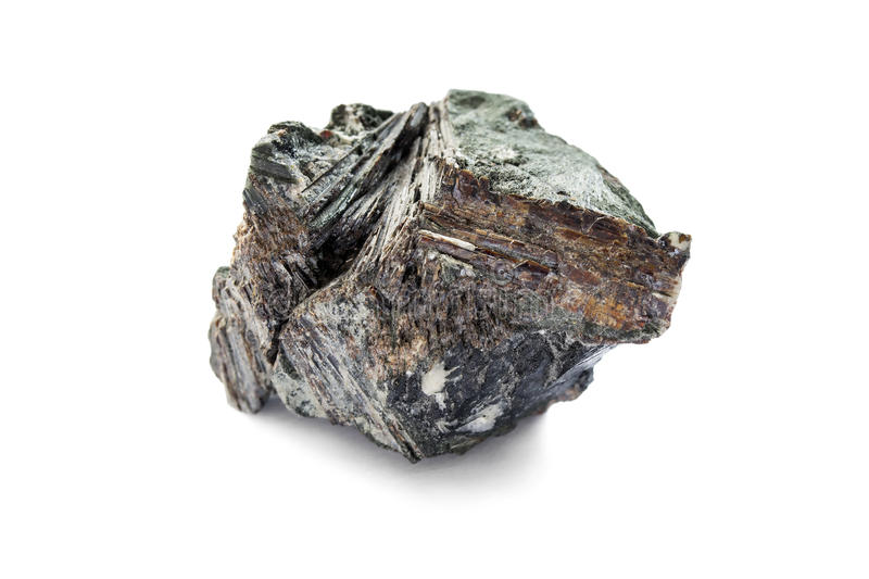 Rough astrophyllite royalty free stock photo