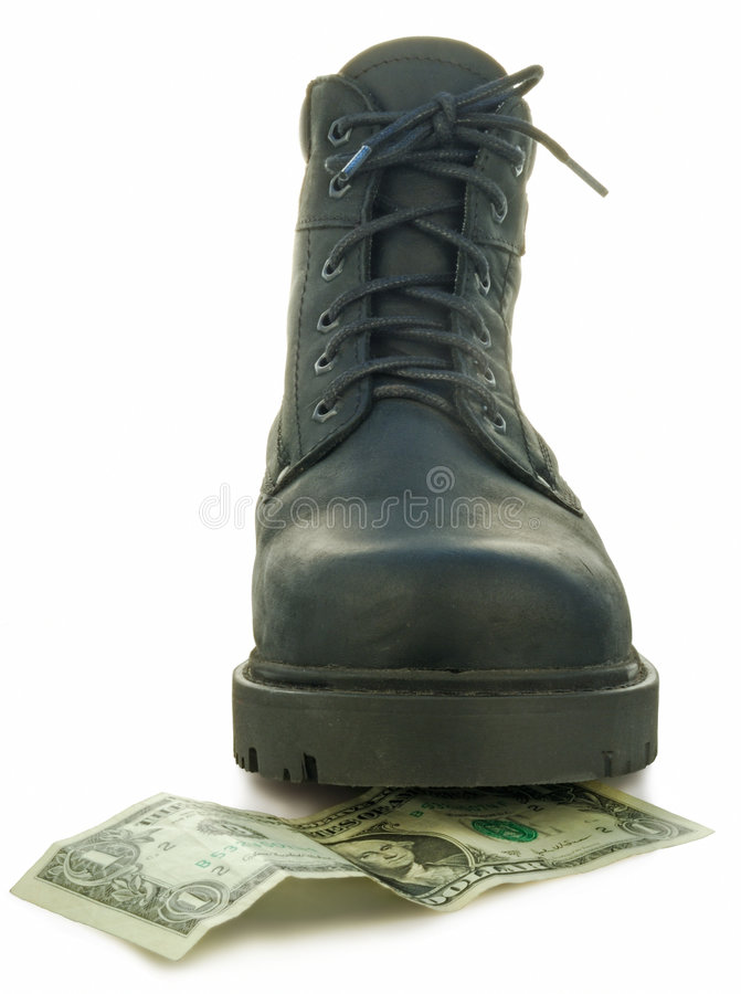 Rough Boot Stock Photography